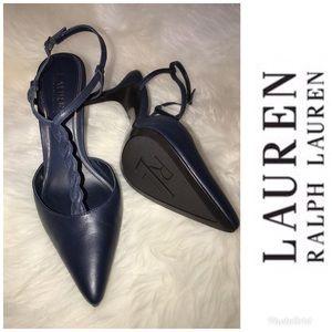 Lauren Ralph Lauren Salita t-strap heels